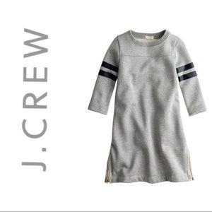 Girls' sparkle football sweatshirt dress